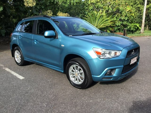 Used Mitsubishi ASX XA MY12 2WD Stuart Park, 2012 Mitsubishi ASX XA MY12 2WD Blue 6 Speed Constant Variable Wagon