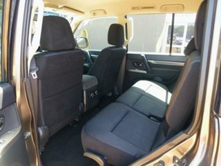 2013 Mitsubishi Pajero NW MY14 GLX-R LWB (4x4) Ironbark 5 Speed Auto Sports Mode Wagon