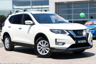 2018 Nissan X-Trail T32 Series II ST-L X-tronic 2WD White 7 Speed Constant Variable Wagon.