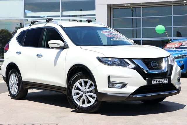 Used Nissan X-Trail T32 Series II ST-L X-tronic 2WD Liverpool, 2018 Nissan X-Trail T32 Series II ST-L X-tronic 2WD White 7 Speed Constant Variable Wagon