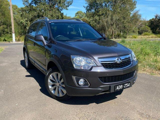Used Holden Captiva CG 5 LT Geelong, 2014 Holden Captiva CG 5 LT Grey Sports Automatic Wagon
