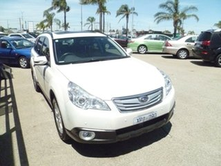 2009 Subaru Outback B5A MY10 2.5i AWD Premium White 6 Speed Manual Wagon.