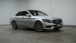 2015 Mercedes-Benz C-Class W205 806MY C250 7G-Tronic + Silver 7 Speed Sports Automatic Sedan.