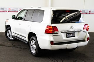 2015 Toyota Landcruiser VDJ200R MY13 Sahara Crystal Pearl 6 Speed Sports Automatic Wagon