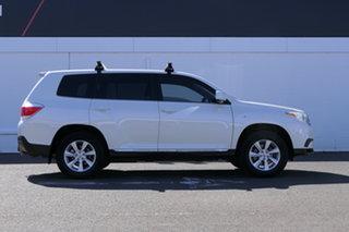 2013 Toyota Kluger GSU45R MY12 KX-R AWD White 5 Speed Sports Automatic Wagon.