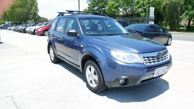 Used Subaru Forester S3 MY12 XS AWD St James, 2012 Subaru Forester S3 MY12 XS AWD Blue 4 Speed Sports Automatic Wagon