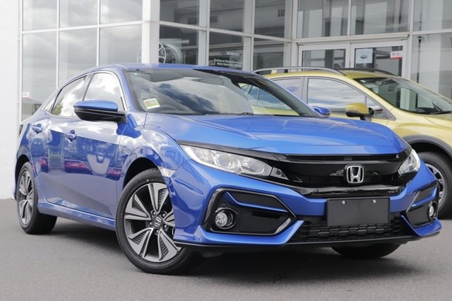Demo Honda Civic 10th Gen MY20 VTi-L Indooroopilly, 2020 Honda Civic 10th Gen MY20 VTi-L Blue 1 Speed Constant Variable Sedan