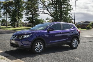 2017 Nissan Qashqai J11 ST Blue 6 Speed Manual Wagon.