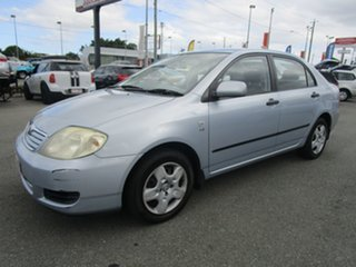 2006 Toyota Corolla ZZE122R 5Y Ascent Blue 4 Speed Automatic Sedan.