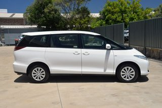 2015 Toyota Tarago ACR50R MY13 GLi White 7 Speed Constant Variable Wagon.