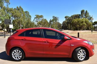 2013 Hyundai i30 GD Active Red 6 Speed Sports Automatic Hatchback.