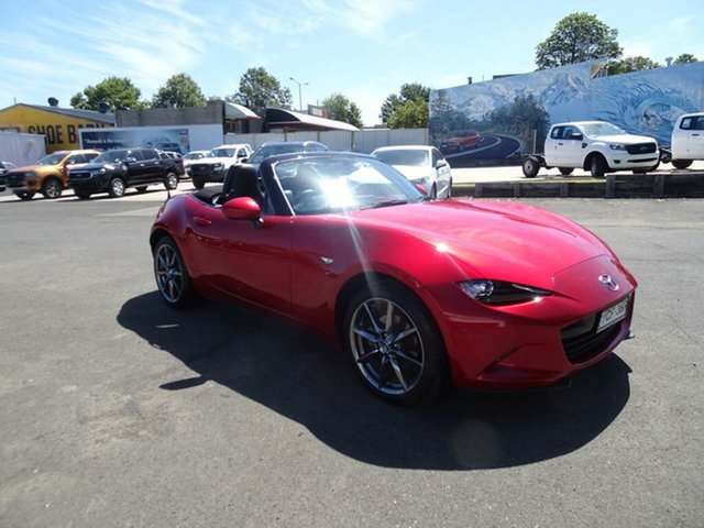 Used Mazda MX-5 ND GT SKYACTIV-MT Nowra, 2016 Mazda MX-5 ND GT SKYACTIV-MT Soul Red 6 Speed Manual Roadster