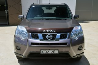 2011 Nissan X-Trail T31 Series IV ST-L Brown 1 Speed Constant Variable Wagon