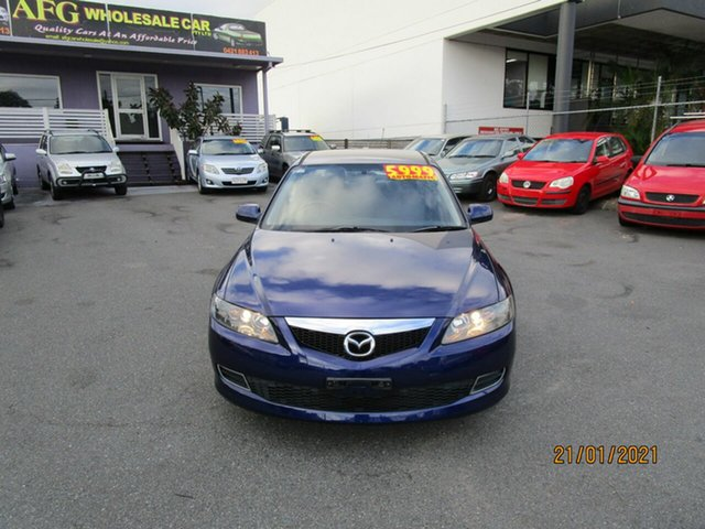 Used Mazda 6 GG 05 Upgrade Classic Coorparoo, 2006 Mazda 6 GG 05 Upgrade Classic Blue 5 Speed Auto Activematic Sedan