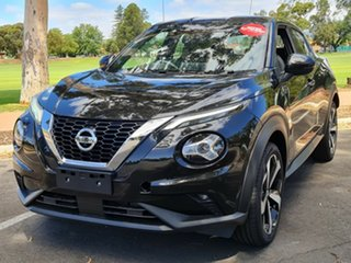 2020 Nissan Juke F16 ST-L DCT 2WD Pearl Black 7 Speed Sports Automatic Dual Clutch Hatchback