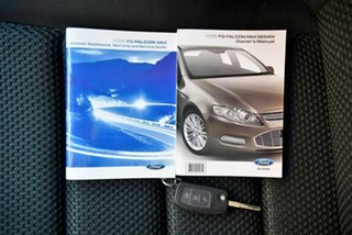 2013 Ford Falcon FG MkII XR6 EcoLPi Blue 6 Speed Sports Automatic Sedan.