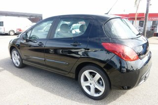 2008 Peugeot 308 T7 XTE Nero Black 6 Speed Sports Automatic Hatchback