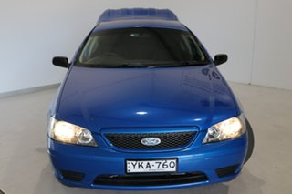 2005 Ford Falcon BA Mk II XL Ute Super Cab Blue 5 Speed Manual Utility