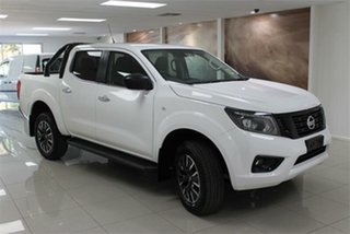 2020 Nissan Navara D23 S4 ST Polar White 7 Speed Sports Automatic Utility.