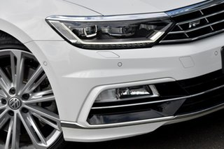 2019 Volkswagen Passat 3C (B8) MY19 206TSI DSG 4MOTION R-Line White 6 Speed