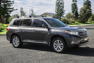 2012 Toyota Kluger GSU40R MY12 Grande 2WD Grey 5 Speed Sports Automatic Wagon.