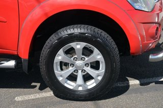 2013 Mitsubishi Triton MN MY13 GLX-R Double Cab Red 5 Speed Manual Utility