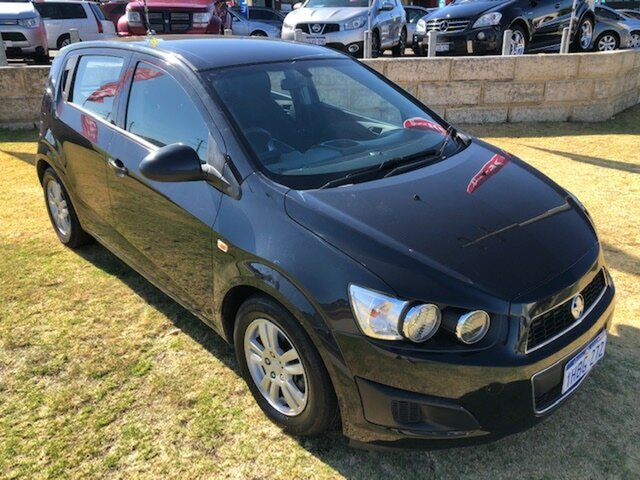 Used Holden Barina TM MY15 CD Wangara, 2015 Holden Barina TM MY15 CD Black 6 Speed Automatic Hatchback