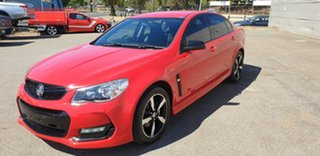 2016 Holden Commodore VF II MY16 SV6 Black Red 6 Speed Sports Automatic Sedan