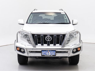 2017 Toyota Landcruiser Prado GDJ150R MY17 GXL (4x4) White 6 Speed Automatic Wagon.