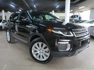 2016 Land Rover Range Rover Evoque L538 MY17 SE Black 9 Speed Sports Automatic Wagon.