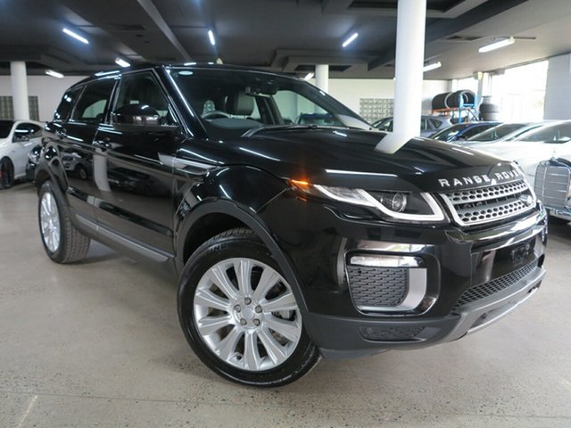 Used Land Rover Range Rover Evoque L538 MY17 SE Albion, 2016 Land Rover Range Rover Evoque L538 MY17 SE Black 9 Speed Sports Automatic Wagon