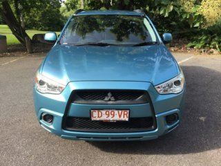 2012 Mitsubishi ASX XA MY12 2WD Blue 6 Speed Constant Variable Wagon.