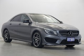 2014 Mercedes-Benz CLA-Class C117 CLA200 DCT Grey 7 Speed Sports Automatic Dual Clutch Coupe
