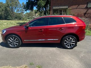 2016 Volvo XC60 (No Series) D4 Luxury Red Sports Automatic Wagon