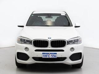 2013 BMW X5 F15 xDrive30d White 8 Speed Automatic Wagon.