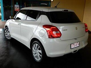 2020 Suzuki Swift AZ Series II GL Navi (Qld) White Continuous Variable Hatchback.