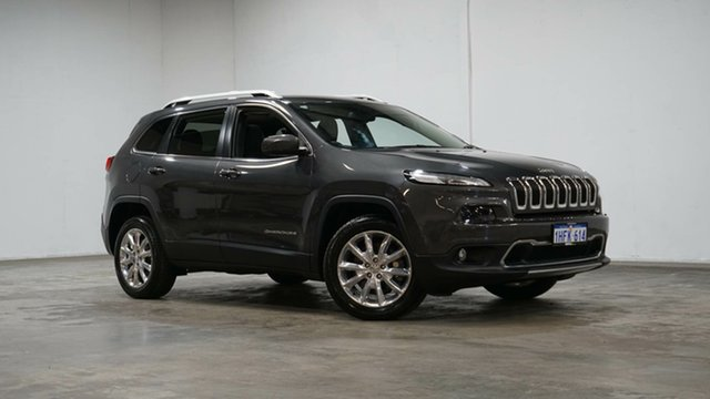 Used Jeep Cherokee KL MY16 Limited Welshpool, 2016 Jeep Cherokee KL MY16 Limited Granite Crystal 9 Speed Sports Automatic Wagon