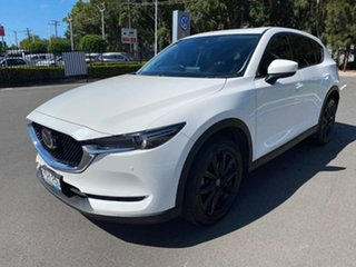 2017 Mazda CX-5 KE1022 Akera SKYACTIV-Drive i-ACTIV AWD White 6 Speed Sports Automatic Wagon.