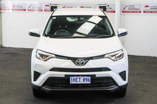 2016 Toyota RAV4 ASA44R GX AWD Glacier White 6 Speed Sports Automatic Wagon.