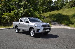 Toyota Hilux Standard  Silver Metallic.