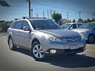2011 Subaru Outback B5A 2.5I Premium Silver Constant Variable Wagon.