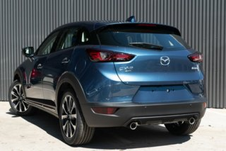 2020 Mazda CX-3 DK4W7A Akari SKYACTIV-Drive i-ACTIV AWD Eternal Blue 6 Speed Sports Automatic Wagon