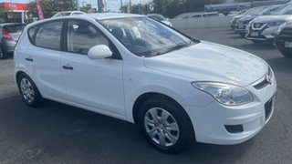 2008 Hyundai i30 FD SX Crystal White 4 Speed Automatic Hatchback.