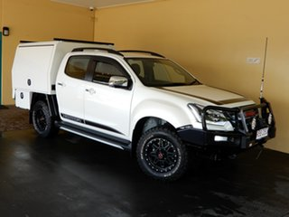 2019 Isuzu D-MAX TF MY19 X-Runner Ltd Ed White (4x4) White 6 Speed Automatic Crew Cab Utility