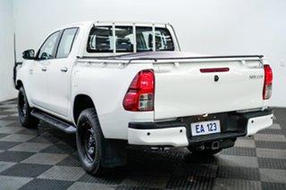 2017 Toyota Hilux GUN126R SR Double Cab White 6 Speed Sports Automatic Utility