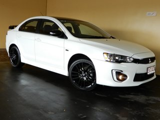 2017 Mitsubishi Lancer CF MY17 Black Edition (es) White 6 Speed CVT Auto Sequential Sedan.
