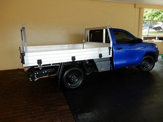 2018 Toyota Hilux TGN121R MY19 Workmate Blue 5 Speed Manual Cab Chassis