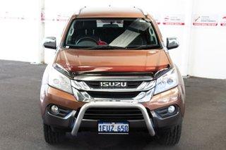 2015 Isuzu MU-X UC LS-U (4x4) Bronze 5 Speed Automatic Wagon