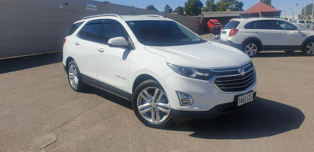 Used Holden Equinox EQ MY18 LTZ FWD Elizabeth, 2018 Holden Equinox EQ MY18 LTZ FWD White 9 Speed Sports Automatic Wagon