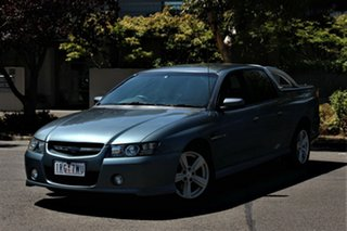 2004 Holden Crewman VZ SS Charcoal 4 Speed Automatic Crew Cab Utility